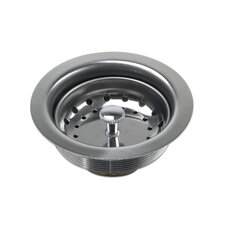 Stainless Steel Drop-In Kitchen/Bar Sink Basket Strainer