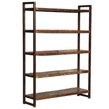 """Hovito Wood 80"""" Standard Bookcase"""