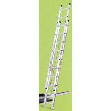 28 ft Aluminum Extension Ladder with 225 lb. Load Capacity