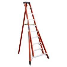 10 ft Fiberglass Step Ladder with 300 lb. Load Capacity