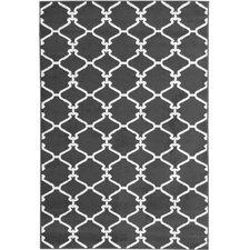 Clifton Moroccan Trellis Light Grey Area Rug