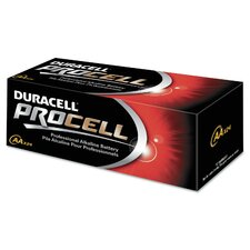 Procell Alkaline Battery, Size AA, 24-Pack