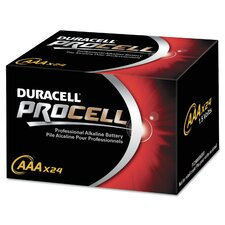 Procell Alkaline Battery, Size AAA, 24-Pack