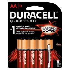 Duracell Ultra Power Durablock Batteries, AA, 8/Pack