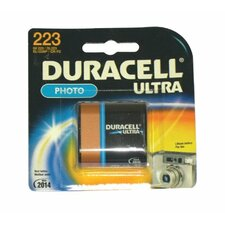Duracell - Lithium Batteries 6.0 Volt Lithium Photo/Elictronic Battery: 243-Dl223Abpk - 6.0 volt lithium photo/elictronic battery (Set of 6)