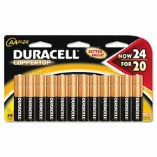 Coppertop Alkaline Batteries (Set of 2)