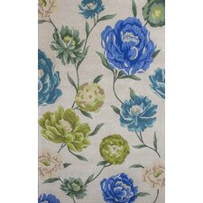 Catalina Ivory Floral Oasis Area Rug