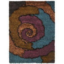Optic Spiral Area Rug