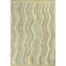 Amore Waves Tan Area Rug