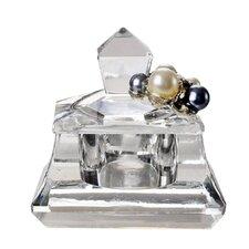 Crystal and Pearls Trinket Box with Swarovski