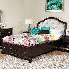 Girls' Glam Storage Bed
