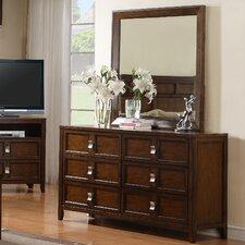 Bayfield 6 Drawer Dresser with Mirror