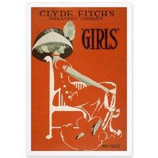 'Girls I' Framed Painting Print