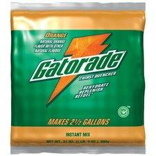 Gatorade® Instant Powder - 6 gal orange powder drink mix 14-51oz pkg