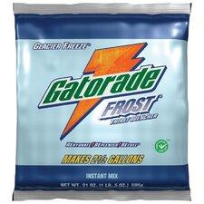 Gatorade® Instant Powder - 2-1/2 gal glacier freezepowder 32-21oz. pkgs
