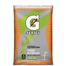 Gatorade® Instant Powder 02 Performance - 6gal lemon-lime powder drink mix 14-51oz pkg