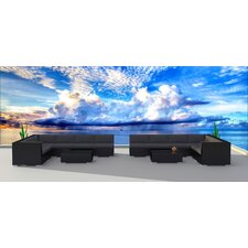 Black Series 14 Piece Deep Seating Group with Cushion