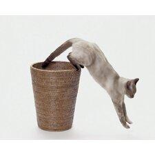Rattan Round Taper Waste Basket