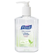 Purell Certified Instant Hand Sanitizer - 8 OZ (Set of 2)
