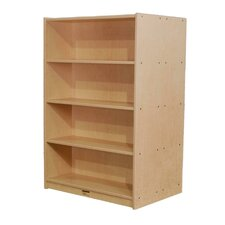 "Double-Sided 72"" Bookcase"