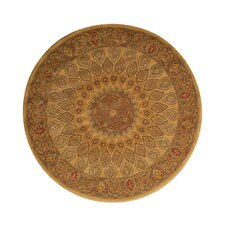 Kernville Hand Woven Gold Area Rug