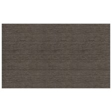 2-Piece Washable Rich Grey Solid Chenille Area Rug