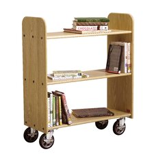 Mobile Series Book Cart