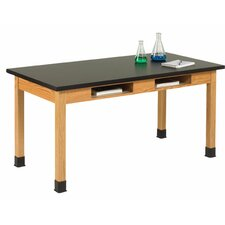 Plain Apron Science Table With 2 Book Compartments