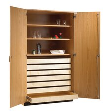 "Rock and Paper Storage Cabinet 84"" Standard Bookcase"
