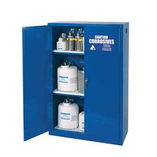 "65"" H x 43"" W x 18"" D Acid and Corrosive Storage Cabinet"