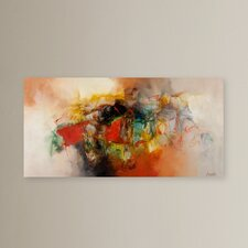 'Abstract' Painting Print on Canvas