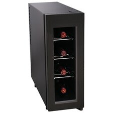 4 Bottle Single Zone Freestanding Wine Refrigerator