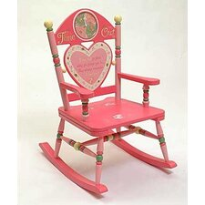 Rock A Buddies Time Out Girl Rocking Chair