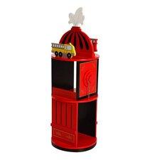 """Firefighter Revolving 37"""" Bookcase"""