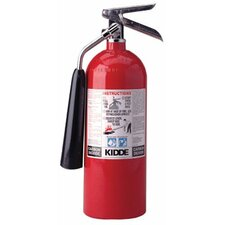 Kidde - Proline Carbon Dioxide Fire Extinguishers - Bc Type 10Lb. Pro 10 Cdm Carbondioxide Fire Exting: 408-466181 - 10lb. pro 10 cdm carbondioxide fire exting