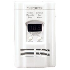 Carbon Monoxide and Explosive Gas Alarm