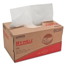 Wypall L10 Utility Wipes - 25 Wipes per Box / 18 Boxes