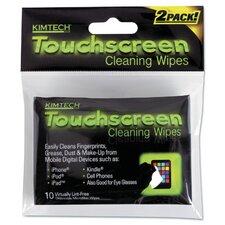Disposable Wipes - 10 Wipes per Pouch / 12 Pouches per Box / 4 Boxes per Case