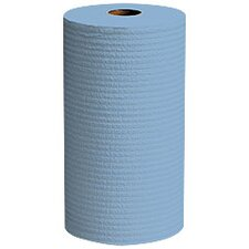 "9.8"" Wypall X60 Wipers Small Roll in Blue"