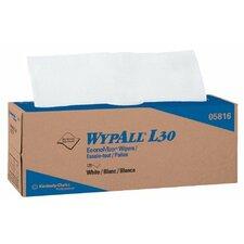 WypAll® L30 Wipers - wypall l30 economizer wiper wht pop-up 120 per