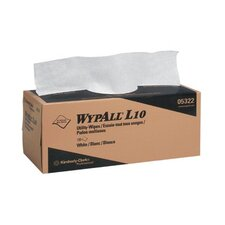 """WypAll® L10 Utility Wipes - 12""""x10.5"""" 2-ply utility-wipes disposable"""