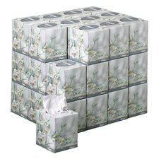 Professional Kleenex Boutique Facial 2-Ply Tissues - 95 Tissues per Box / 36 Boxes per Carton