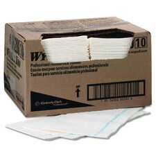 Wypall X80 Foodservice Towels Stripe in White / Blue