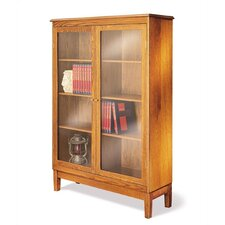 "Traditional Library 53"" Barrister Bookcase"