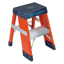 2-Step Fiberglass Step Stool with 300 lb. Load Capacity
