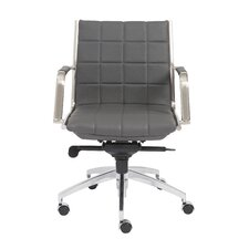Zander Low Back Leather Office Chair