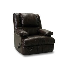 Clayton Leather Match Chaise Recliner