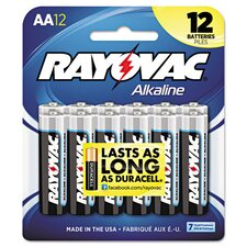 Alkaline AA Battery (12 Pack)