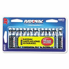 Alkaline AAA Battery (24 Pack)
