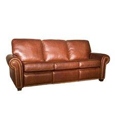 Aurora Leather Reclining Sofa
